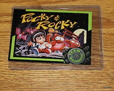Rare & Collectible 1993 TEAM BLOCKBUSTER #27 Pocky & Rocky Game - Near Mint