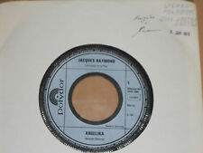 """JACQUES RAYMOND -Angelika- 7"""" 45 Polydor Promo Archiv mint"""