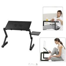 360°Adjustable Portable Folding Laptop Desk Table Stand Bed Tray For PC Notebook