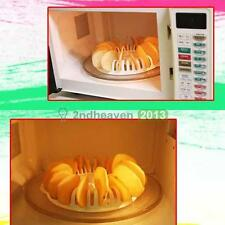 Home Kitchen DIY Low Calories Microwave Oven Pumpkin Potato Chips Rack Maker