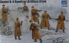 TRUMPETER® 00427 Soviet B-4 Howitzer Artillery Crew FIGUREN in 1:35