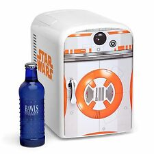 NEW Star Wars BB-8 The Force Awakens MINI-FRIDGE 6-Beer/Soda Cooler/Hot Home/Car
