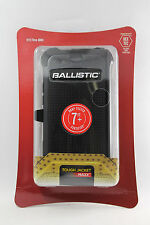 Ballistic SG Tough Jacket MAXX Hard Case w/Holster Belt Clip fo HTC ONE M8 BLACK