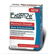 Extenze Maximum Strength Formula Male Enhancement 1 Box=30 pills E1