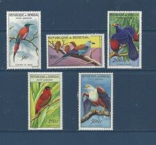 "SENEGAL   #C26-C30    MH      ""BIRDS"""