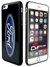Cell Phone Cases Covers Skin for Apple iPhone 6 plus Ford Oval Logo Black Blue