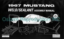 Mustang Assembly Manual Welding AM19 1967 - Osborn Reproductions