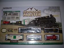 New Bachmann Menards Mountain Master HO Scale Electric Train Set 155 Pieces