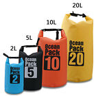 Multi-color 2L/5L/10L/20L Dry Bag Waterproof Outdoor Camping Swimming Canoeing