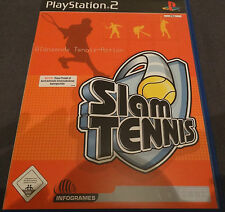 Slam Tennis (Sony PlayStation 2, DVD-Box)