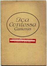 ICA Contessa Cameras 1921 SC Book