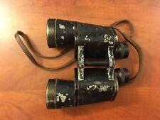 WW2 German Dienstglas Binoculars 10/50 With Case