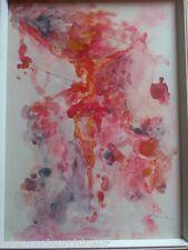 peinture moderne des années 1970 signée Morando