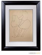 Marino MARINI Lithograph SIGNED Ltd EDITION 1945  +Custom Archival FRAME 20x24in