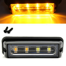 4 LED Car Truck RV Emergency Beacon Flash Light Bar Hazard Strobe Warning Yeloow