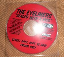 CD Promo THE EYELINERS Sealed With A Kiss LOOKOUT No SFTRI Punk Sympathy
