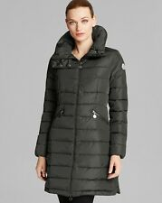 2016 Moncler Flamme Charcoal Coat Jacket size 1 Small $1295 100% NEW & AUTHENTIC