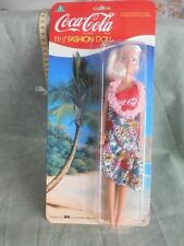 BAMBOLA FASHION DOLL COCA COLA GIOCHI PREZIOSI ORIGINAL BRAND NEW