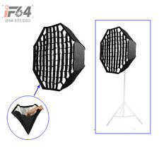 Umbrella Octagon Softbox with Grid For SpeedLight/Flash 80cm/32in