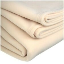 1 NEW WESTPOINT STEVENS VELLUX BLANKET SUPER WARM AND PLUSH IVORY FULL