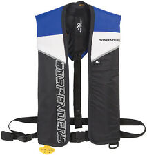 NEW Stearns Sospenders  2000007058 PFD 1271 Manual Inflatable Life Vest Blue