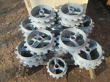 "15"" Ductile Iron Cultipacker Wheel for food plot seeding"