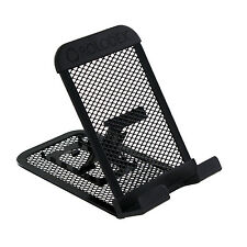 Rolodex Mobile Device Mesh Stand for iPhone, Samsung, iPad, iPod, Kindle - Black