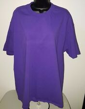 Alstyle Apparel Men's Purple Short Sleeve T-Shit Size XL