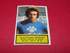 24 P-F. HEIDKAMP SEC BASTIA FURIANI AGEDUCATIFS FOOTBALL 1975-76 PANINI 75-1976