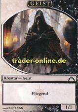 2x Spielstein - Geist (Token - Spirit) Gatecrash Magic