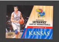 2013 Upper Deck Kansas #57 Jerod Haase Mint Jayhawks KU Basketball Rock Chalk
