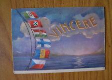 CARTOLINA MILITARE VINCERE VIAGGIATA DEL 1943 SUBALPINA YY