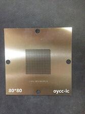 80*80  XBOX 360 SLIM  XCGPU  X CGPU X818337-001 X818337-002  Stencil Template