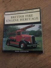 British Fire Engine Heritage Vintage Book - Osprey Utility Vehicles Series 1994