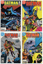 BATMAN #408 409 410 411 JASON TODD 4 PART ORIGIN FULL SET! ROBIN RED HOOD JOKER
