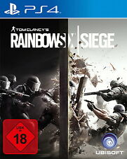 Playstation 4 Spiel: Tom Clancys Rainbow Six Siege PS 4 Neu & OVP