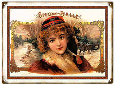 Snow Belle Cigar And Tobacco Sign