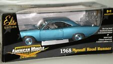 1/18th 1968 Plymouth Hemi Road Runner Blue