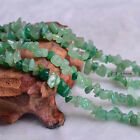 "15""L Green jade Gemstone Jewelry Loose Chip Bead 1 Strands"