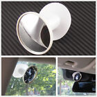 White 360° Wide Angle Automobiles Blind Spot Rear View Convex Mirror For Honda