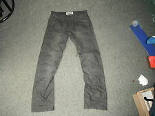 "Moto Twister Waist 28"" Leg 30"" Black Faded Mens Jeans"