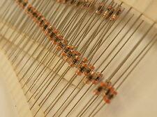 100x Miniature De-Coupling Capacitors 0.1uF= 104= 100nF 50v Ex Mil Axial Ceramic