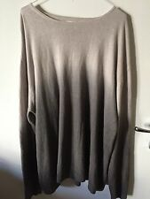 MENS GANT JUMPER SWEATER 100 % Linen GREY SIZE XXL XXLARGE EXCELLENT