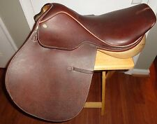 "Collegiate RD leather English 17"" Horse Saddle  L@@K!"