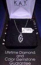Kay Jewelers *Diamonds in Rhythm Necklace 925 Sterling Mother's Day Velvet Box