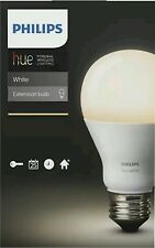 Philips - hue A19 Smart LED Light Bulb - White Only