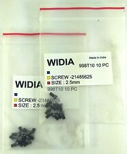 LOT OF 20 TORX SCREWS WIDIA M2.5X6mm SCREW FOR INDEXABLE INSERT