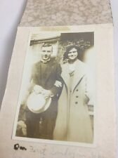 """1930's Pre-War Photo Album American Missionary Couple In Japan 23 Photos 2.5"""""""