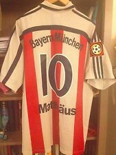 MATTHÄUS GERMANY BAYER MUNCHEN MATCH WORN INTER OPEL BUNDESLIGA