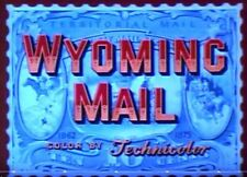 WYOMING MAIL, 1950, Stephen McNally, Alexis Smith Colour Western: DVD-R:Region 2